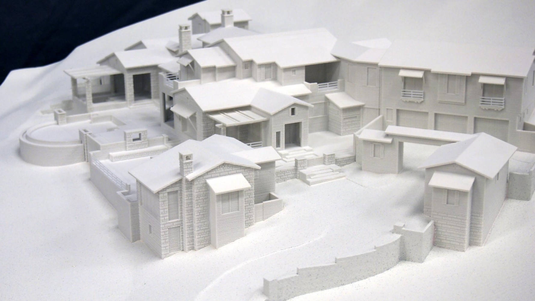 Dale garton design desert mountain 3d printed drc model lgm for House project online