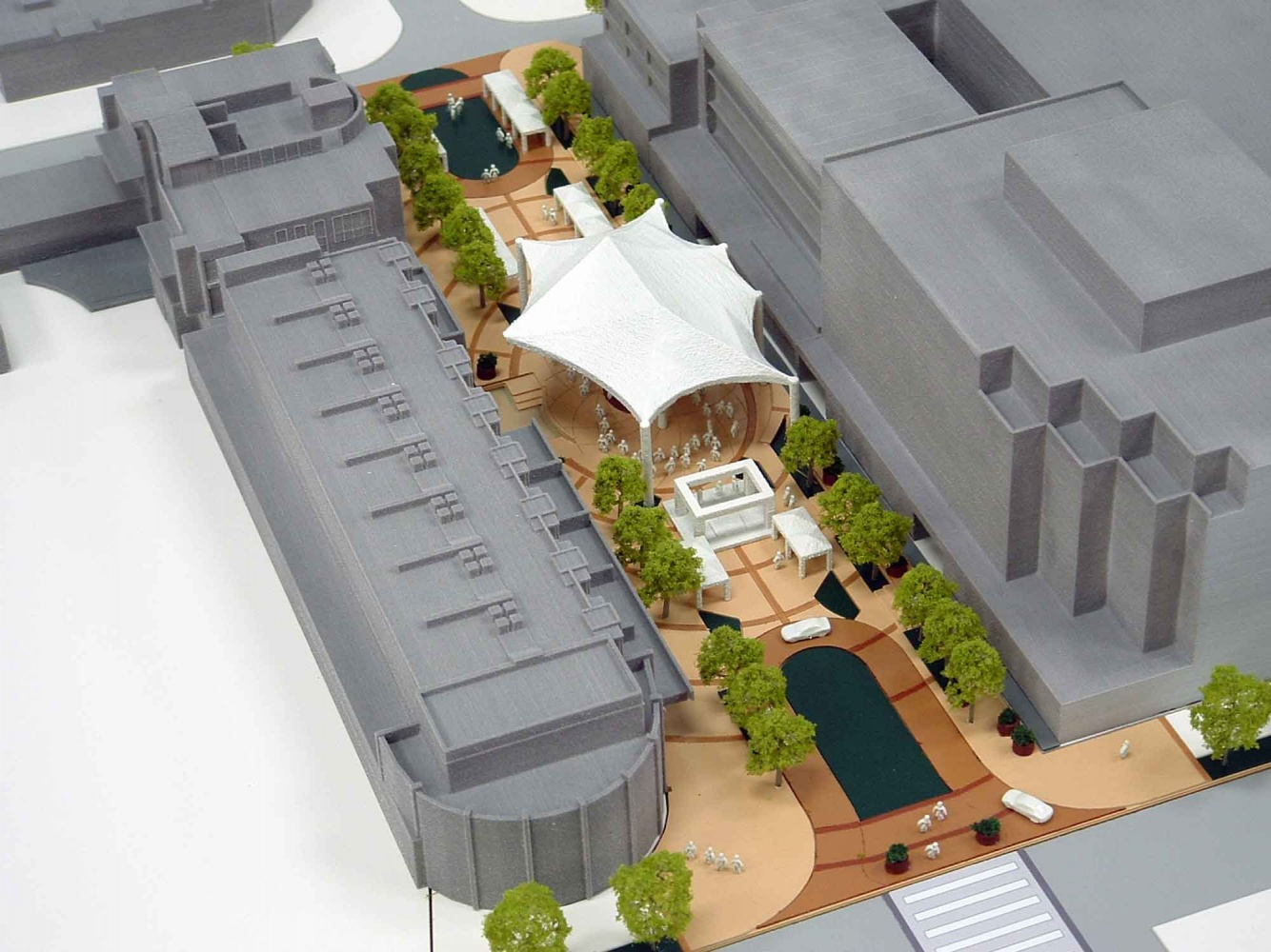 Interchangeable plaza designs for fillmore street lgm for Printing architectural plans