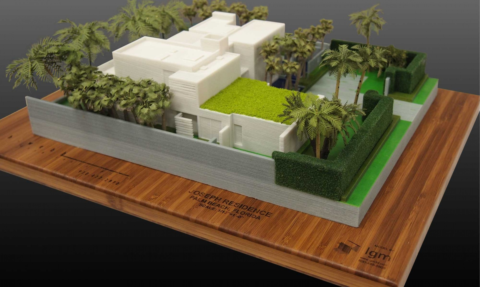 Color 3d print of a private residence lgm for 3d printer house for sale