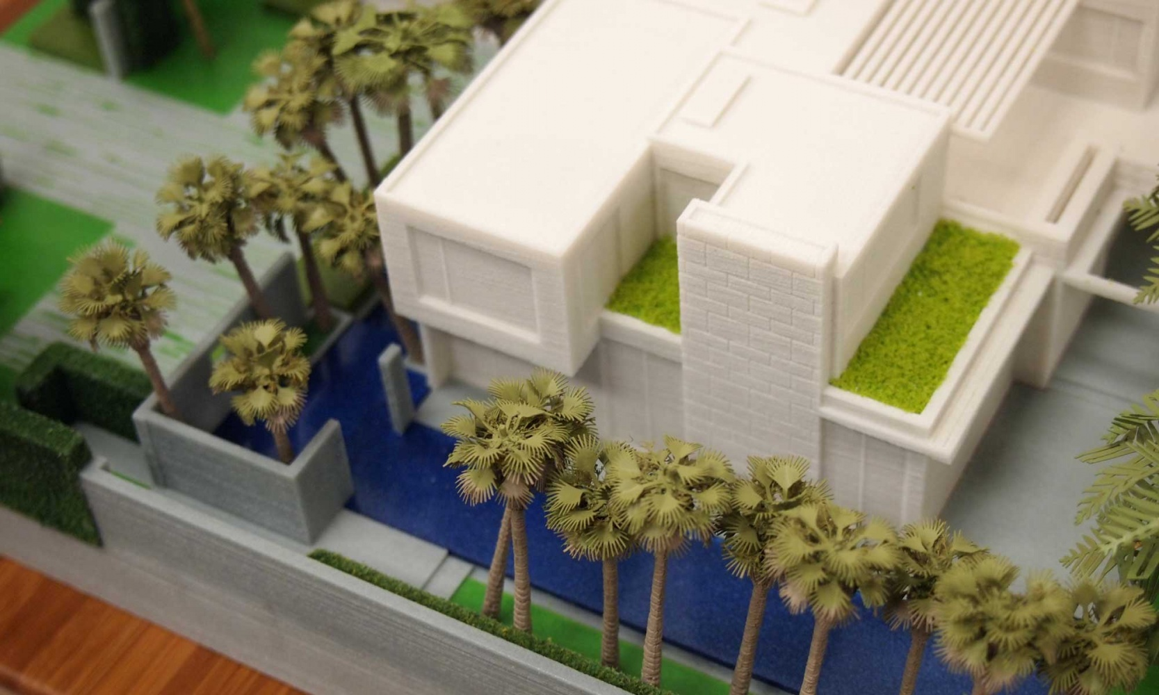 Color 3D Print of Proposed Residence