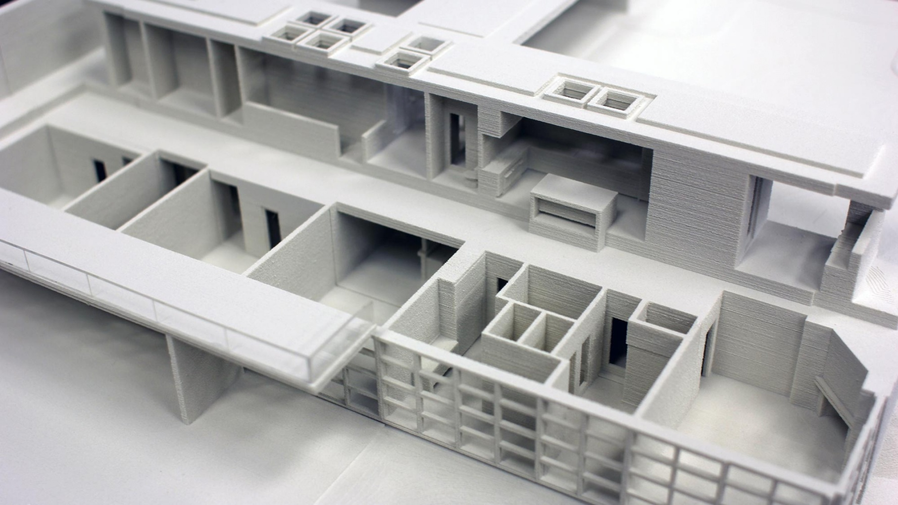 The Window Residential Study Model Platt Architecture 3d Print Detail