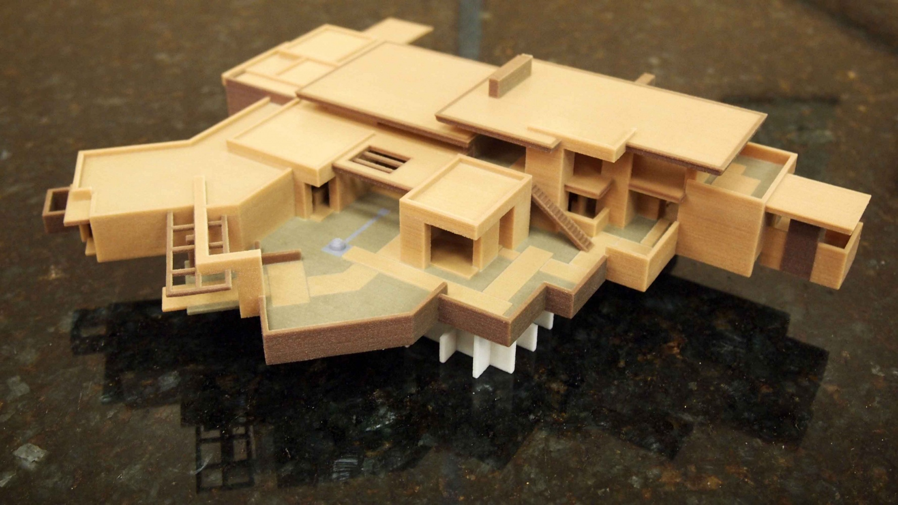 Residential Color 3D Print Model