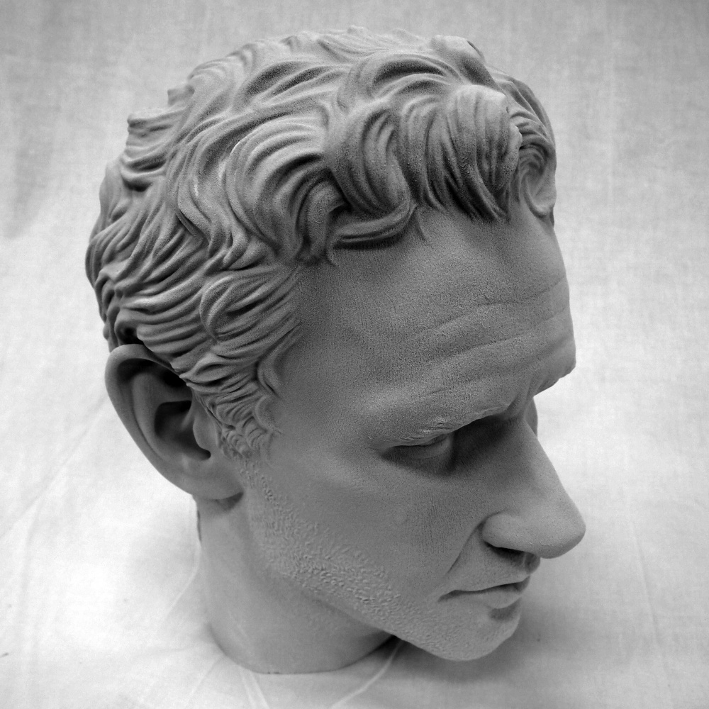 Wolfsonian FIU Bust 3D Print Model