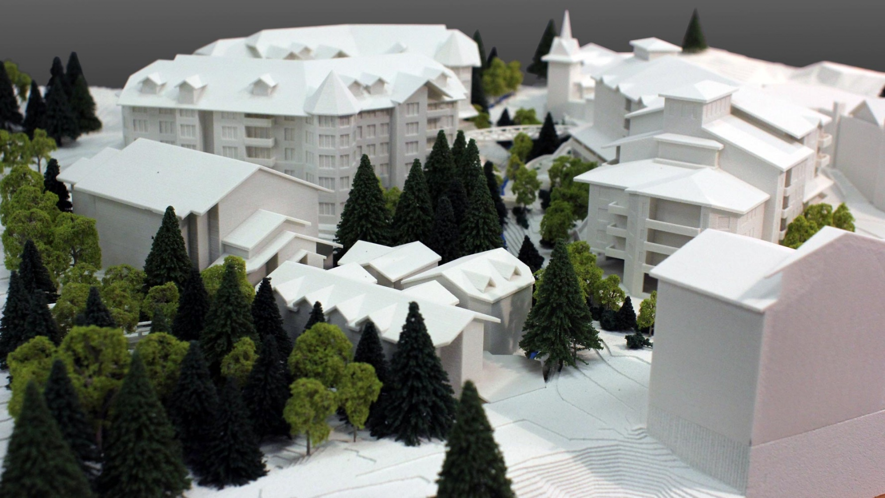 Taos Architectural 3D Print Model